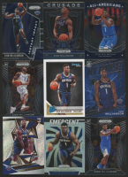 Lot of (9) Zion Williamson Basketball Cards with 2019-20 Donruss #201 RC, 2019-20 Panini Prizm Draft Picks #100 AA, 2019-20 Panini Prizm Draft Picks Prizms Silver #1, 2019-20 Panini Revolution #101 RC at PristineAuction.com