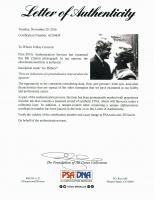 "Bill Clinton Signed 11x14 Photo Inscribed ""Go Hillary"" (PSA LOA) at PristineAuction.com"