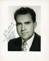 "Richard Nixon Signed 8x10 Photo Inscribed ""With All Grand Wishes"" & ""US Senator"" (PSA LOA) at PristineAuction.com"