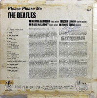"Ringo Starr Signed Beatles ""Please Please Me"" Vinyl Record Album Cover (Beckett LOA) at PristineAuction.com"