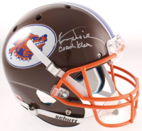 "Henry Winkler Signed ""The Waterboy"" SCLSU Mud Dogs Full-Size Helmet Inscribed ""Coach Klein"" (JSA COA) at PristineAuction.com"