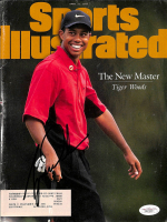 Tiger Woods Signed 1997 Sports Illustrated Magazine (JSA LOA) at PristineAuction.com