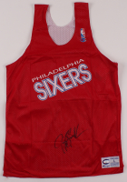 Jerry Stackhouse Signed 76ers Jersey (JSA & Score Board COA) at PristineAuction.com