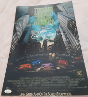 "Kevin Eastman Signed ""Teenage Mutant Ninja Turtles"" 11x17 Movie Poster With Hand-Drawn Sketch (JSA COA) at PristineAuction.com"