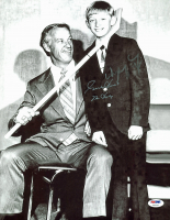 "Wayne Gretzky & Gordie Howe Signed 11x14 Photo Inscribed ""Mr. Hockey"" (PSA LOA) at PristineAuction.com"