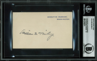 William McKinley Signed 3x4.25 White House Cut (BAS Encapsulated) at PristineAuction.com
