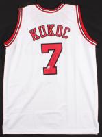 Tony Kukoc Signed Jersey (Beckett COA) at PristineAuction.com