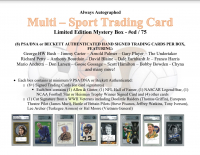 """Always Autographed """"Multi-Sport Trading Card"""" Mystery Box at PristineAuction.com"""