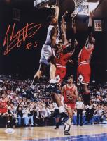 John Starks Signed Knicks 11x14 Photo (JSA COA) at PristineAuction.com