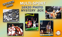Schwartz Sports EXTREME ODDS - Multi Sports Signed Mystery 16x20 Photo –Series 1 (Limited to 25) at PristineAuction.com