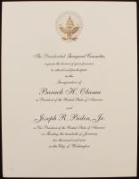 2009 Barrack Obama Presidential Inauguration Invitation at PristineAuction.com