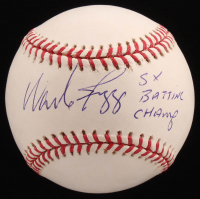 "Wade Boggs Signed OML Baseball Inscribed ""5x Batting Champ"" (JSA COA) at PristineAuction.com"