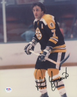 Phil Esposito Signed Bruins 8x10 Photo (PSA COA) at PristineAuction.com