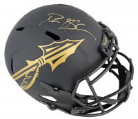 Deion Sanders Signed Florida State Seminoles Full-Size Eclipse Alternate Speed Helmet (Beckett COA) at PristineAuction.com