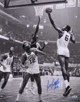 Bill Russell Signed Celtics 16x20 Photo (Hollywood Collectibles COA) at PristineAuction.com