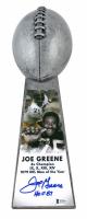 "Joe Greene Signed Steelers 15"" Lombardi Football Championship Trophy Inscribed ""HOF 87"" (Beckett COA) at PristineAuction.com"