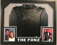 "Henry Winkler Signed ""Happy Days"" 34x42 Custom Framed Jersey (JSA COA) at PristineAuction.com"