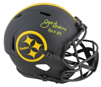 "Joe Greene Signed Steelers Eclipse Alternate Speed Full-Size Helmet Inscribed ""HOF 87"" (Beckett COA) at PristineAuction.com"