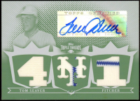 Tom Seaver 2007 Topps Triple Threads Relics Autographs White Whale Printing Plate #84 at PristineAuction.com