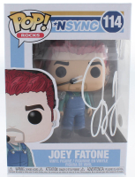 Joey Fatone Signed *NSYNC #114 Funko Pop! Vinyl Figure (JSA COA) at PristineAuction.com