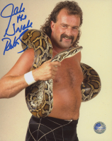 """Jake """"The Snake"""" Roberts Signed 8x10 Photo (Pro Player Hologram) at PristineAuction.com"""