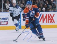 Jordan Eberle Signed Oilers 11x14 Photo (JSA COA) at PristineAuction.com