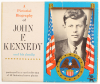 Lot of (30) 1961 John F. Kennedy Cards with Original Box at PristineAuction.com