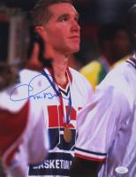 Chris Mullin Signed Team USA 11x14 Photo (JSA COA) at PristineAuction.com