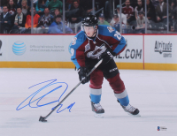 Gabriel Landeskog Signed Avalanche 11x14 Photo (Beckett COA) at PristineAuction.com
