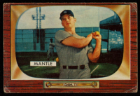 Mickey Mantle 1955 Bowman #202 at PristineAuction.com