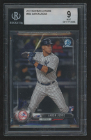 Aaron Judge 2017 Bowman Chrome #56A RC (BGS 9) at PristineAuction.com