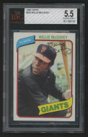 Willie McCovey 1980 Topps #335 (BVG 5.5) at PristineAuction.com
