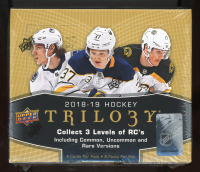 2018-19 Upper Deck Trilogy Hockey Hobby Box at PristineAuction.com