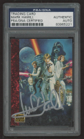 Mark Hamill Signed 1993-95 Star Wars Galaxy #54 Foreign Movie Posters (PSA Encapsulated) at PristineAuction.com