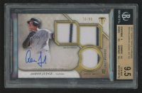 Aaron Judge 2017 Topps Triple Threads #RPAAJ Jersey Autograph RC (BGS 9.5) at PristineAuction.com