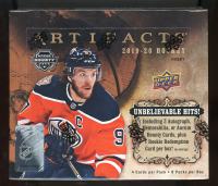 2019-20 Upper Deck Artifacts Hockey Hobby Box at PristineAuction.com