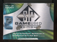 2019-20 Upper Deck SP Game Used Hockey Hobby Box at PristineAuction.com