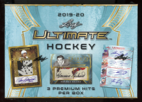 2019-20 Leaf Ultimate Hockey Hobby Box at PristineAuction.com