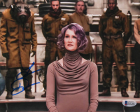 "Laura Dern Signed ""Star Wars: The Last Jedi"" 8x10 Photo (Beckett COA) at PristineAuction.com"