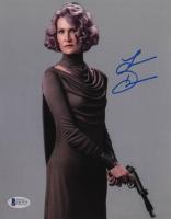 "Laura Dern Signed ""Star Wars: The Last Jedi"" 8x10 Photo (Beckett COA) at PristineAuction.com"