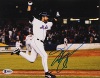 Mike Piazza Signed Mets 8x10 Photo (Beckett COA) at PristineAuction.com