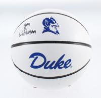 Zion Williamson Signed Duke Blue Devils Logo Basketball (Fanatics Hologram) at PristineAuction.com