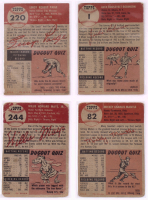 Complete Set of (274) 1953 Topps Baseball Cards with #82 Mickey Mantle (Trimmed), #244 Willie Mays (Trimmed), #104 Yogi Berra, #147 Warren Spahn at PristineAuction.com