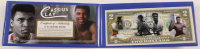 "Muhammad Ali ""Cassius Clay"" Colorized $2 Commemorative Bank Note at PristineAuction.com"