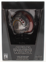 "Denis Lawson Signed ""Star Wars"" Master Replicas 30th Anniversary Luke Skywalker X-Wing .45 Scale Replica Helmet Inscribed ""Red 2"" (Beckett COA) at PristineAuction.com"