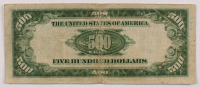1934-A $500 Five-Hundred Dollar Federal Reserve Note at PristineAuction.com