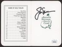 Jack Nicklaus Signed Augusta National Golf Club Scorecard (JSA COA) at PristineAuction.com