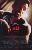 "James Toney Signed ""Ali"" 11x17 Poster Inscribed ""Lights Out"" (Schwartz COA) at PristineAuction.com"