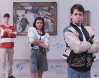 "Matthew Broderick, Mia Sara & Alan Ruck Signed ""Ferris Bueller's Day Off"" 16x20 Photo (Schwartz COA) at PristineAuction.com"