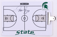 Tom Izzo Signed Michigan State Spartans Dry Erase Basketball Clipboard (JSA COA) at PristineAuction.com